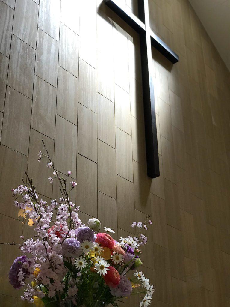 礼拝堂お花